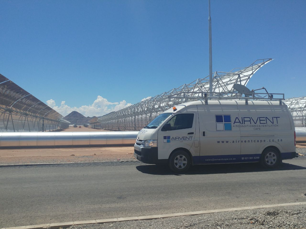 Xina Solar Farm, Northern Cape