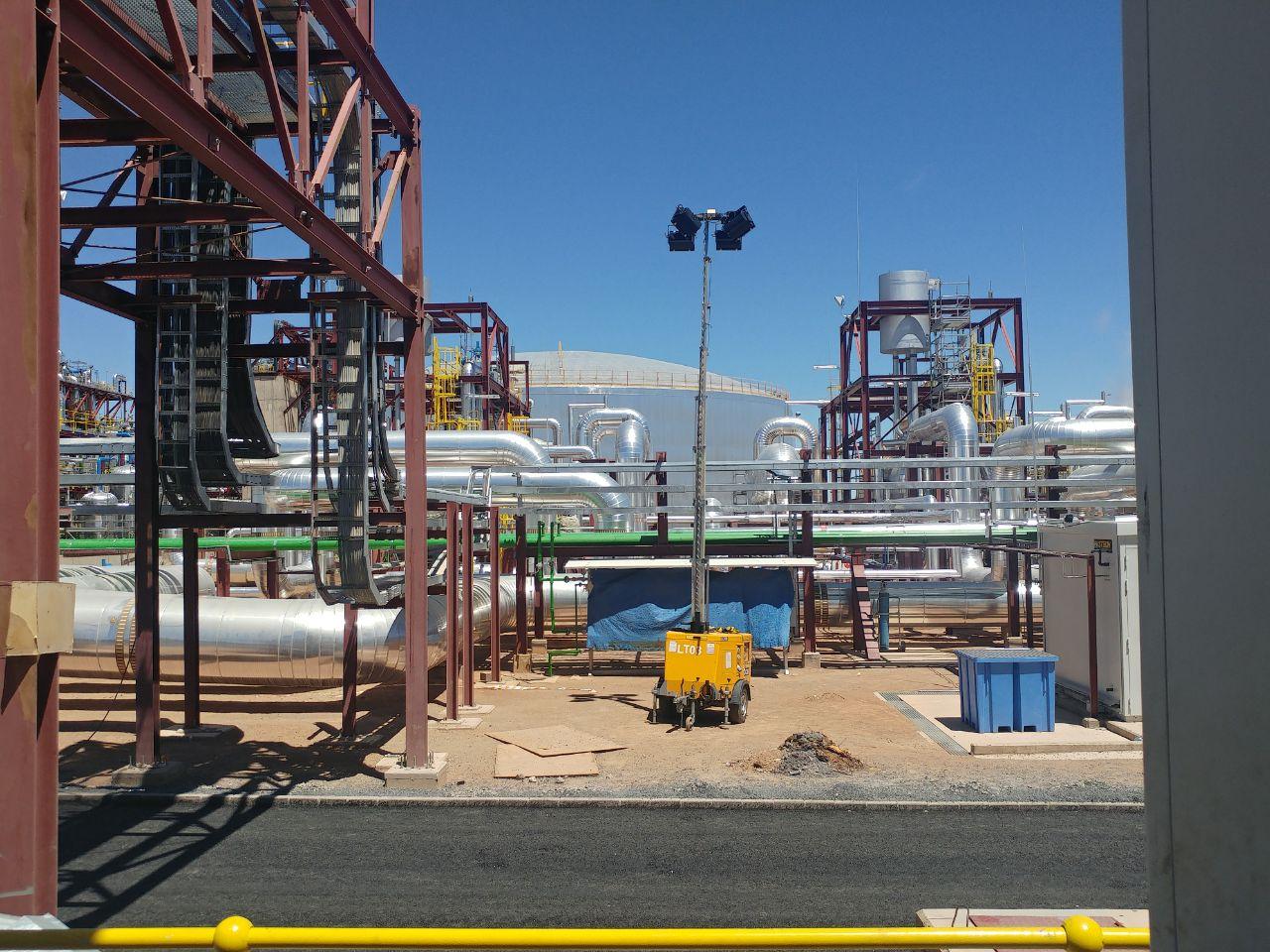 Airvent Airconditioning & Ventiliation Portfolio: Xina Solar Farm, Northern Cape